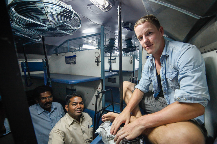 Safe train travel in India: keep your most valuable items right next to you!