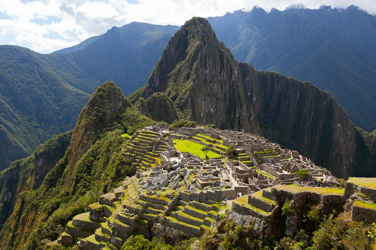 Machu Picchu without tour