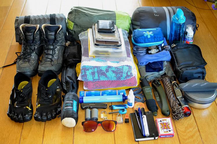 Lando's travel gear