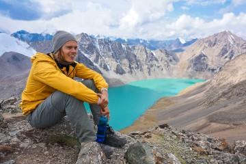 Lando at Issyk-Kul Lake in the Terskey Ala-Too Range (North-East Kyrgyzstan)