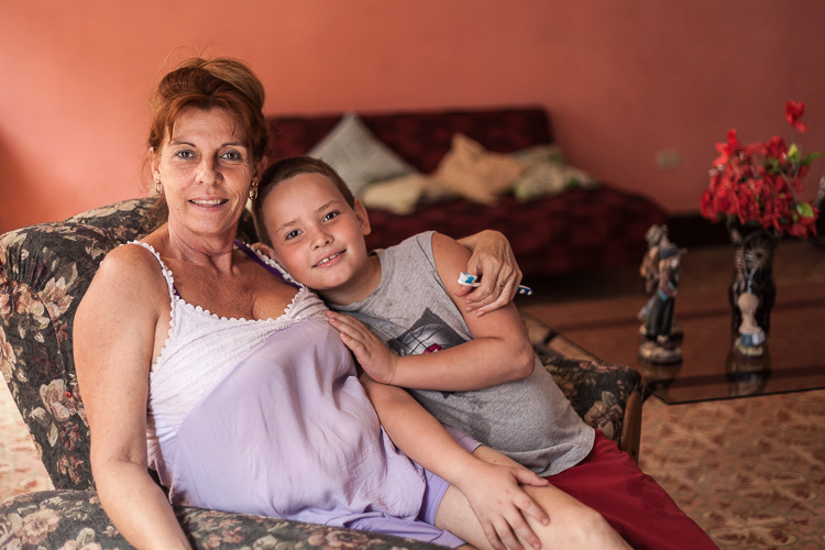 Mother and son – as my host they offered me a great opportunity to practice my Spanish