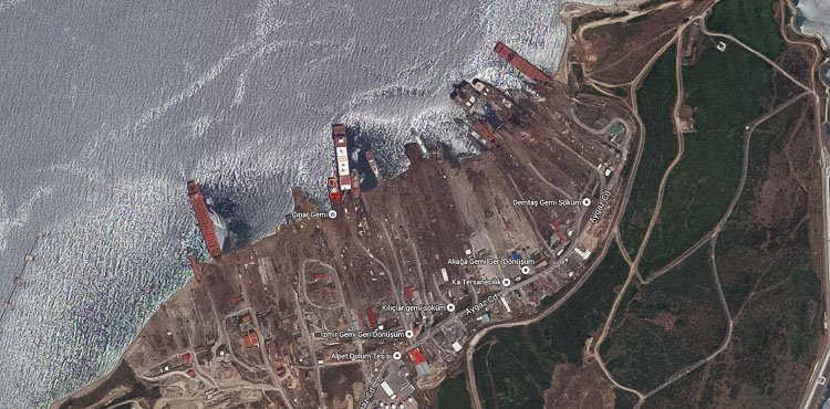 Google Earth Aliaga