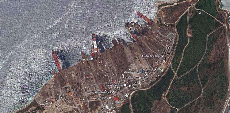 Google Earth Aliaga