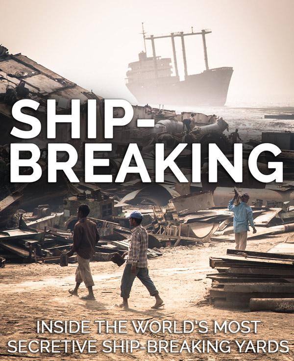 Secretive ship-breaking yards