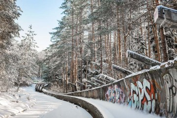 The Abandoned Bobsleigh Track of Sarajevo