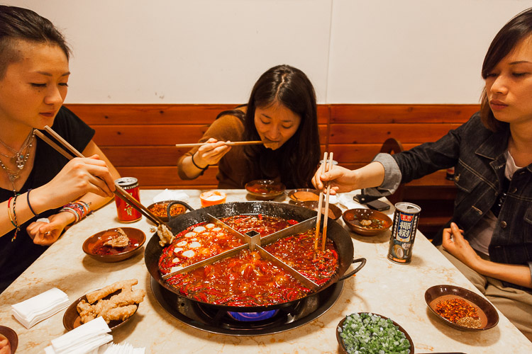 Believe it or not, after watching some documentaries at home one of my dreams was to eat from the famous hotpot in Chengdu (China). I found a local host who could help me with that and it was awesome!