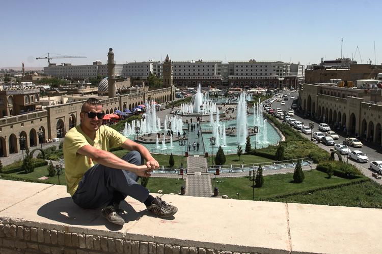 Sebastian in Erbil, Iraqi Kurdistan