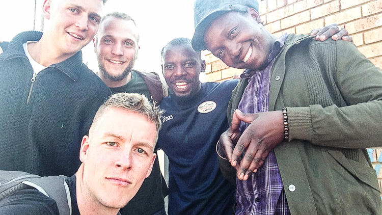 Meeting up with some locals during the whole day in Soweto, South-Africa. My friends arranged this meeting the night before