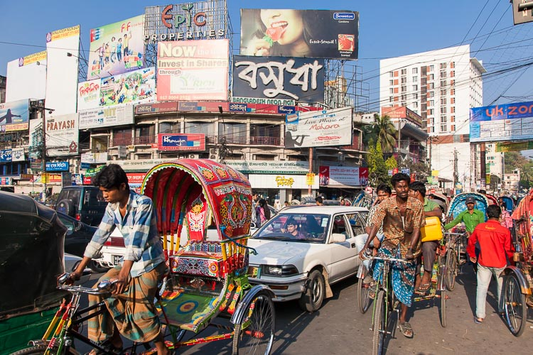 Chittagong, bustling and industrial, it's the second city of Bangladesh