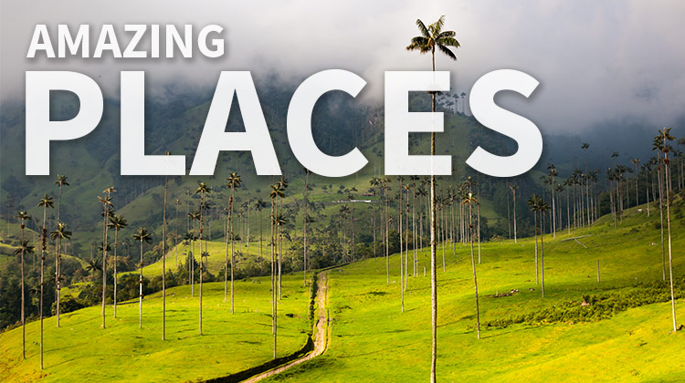 The Most Amazing Places