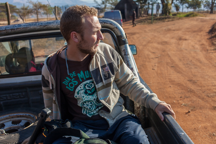 Hitchhiking our way to meet the King of Swaziland inside the Mlilwane Wildlife Sanctuary