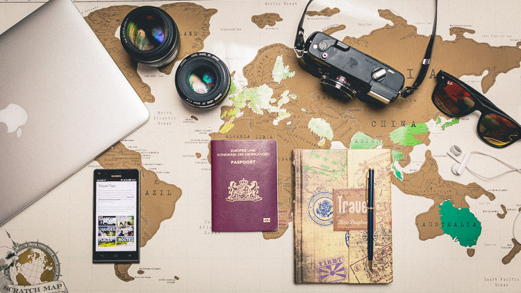 Travel planning - the ultimate checklist for a trip around the world (copyright: offbeattravelling.com)