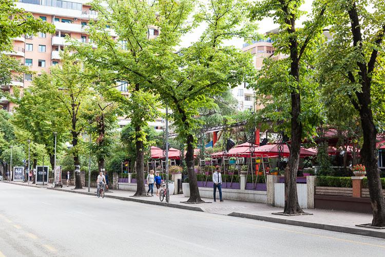 A typical street view of the block neighbourhood.