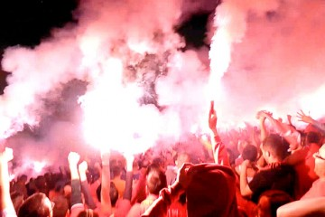 Tirana Derby: Embedding with the Ultras Guerrils of KF Partizani