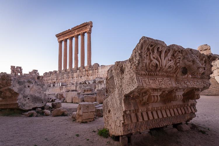 Baalbek Ruins Lebanon