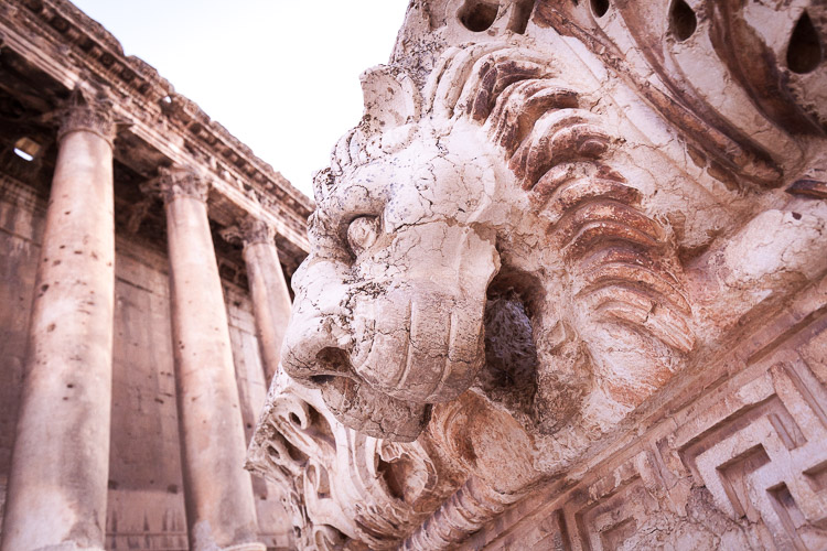 The Baalbek ruins are located inside the now troubled Bekaa valley in Libanon and sees a high threat of spillovers from the war in nearby Syria.