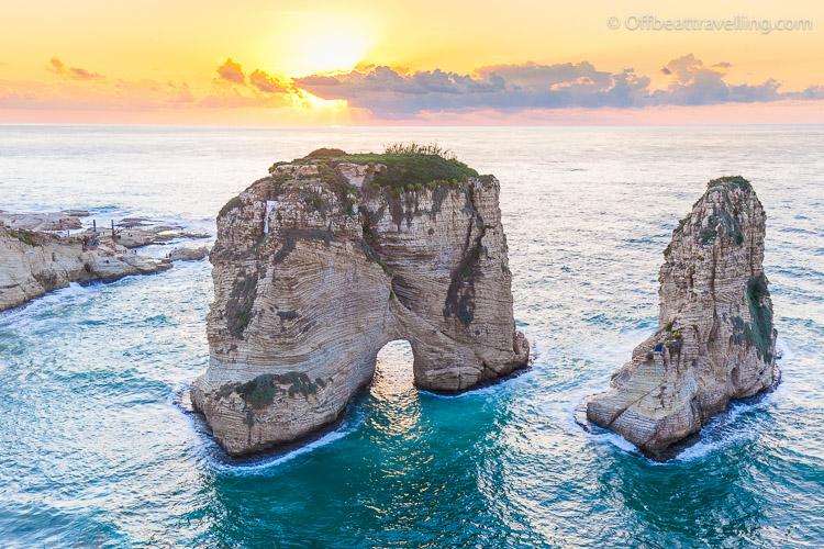 Pigeon Rocks (al-Rawsha) - Beirut, Lebanon