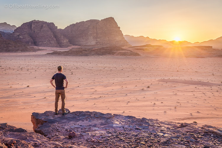 The desert landscapes of Wadi Rum attract many visitors from around the world.