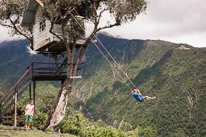 Casa del Arbol, Baños Ecuador