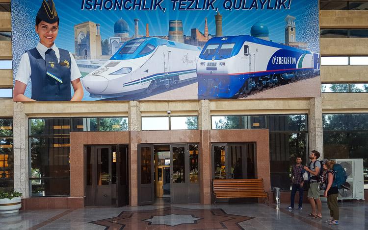 Afrosiyob train Uzbekistan