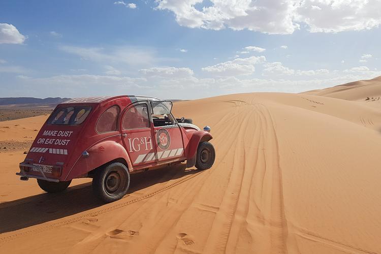 Africa 2CV adventure