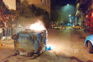 The Night I Bumped into Violent Clashes Between Greek Anarchists and the Police