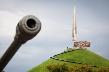 Kurgan Slavy - Mound of Glory Belarus
