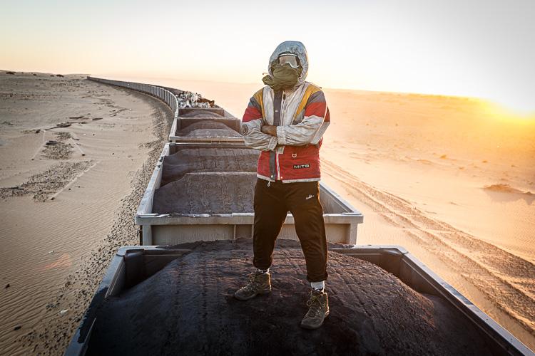 Iron Ore Train Mauritania