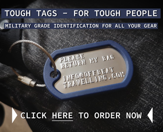 Toughtags - Personalized Luggage Tags